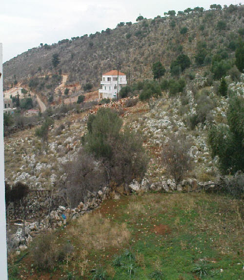 villas for sale in chania mountain view