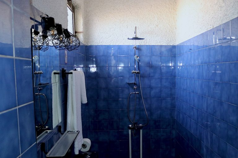 Guesthouse for sale in Chania Crete bathroom detail ch108