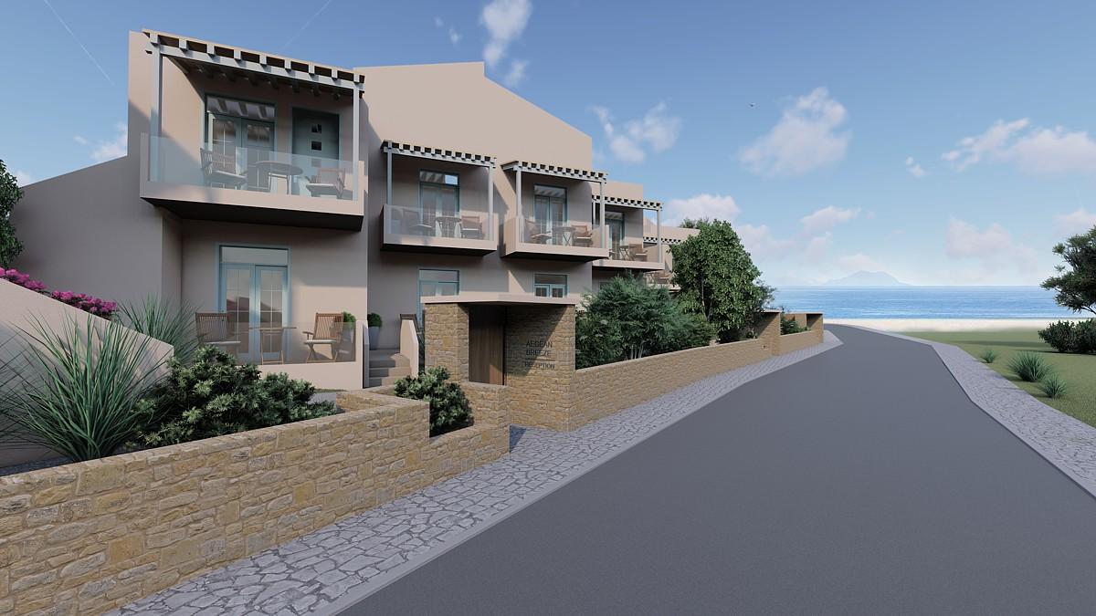 Development for sale in Chania Crete close to the beach CH113