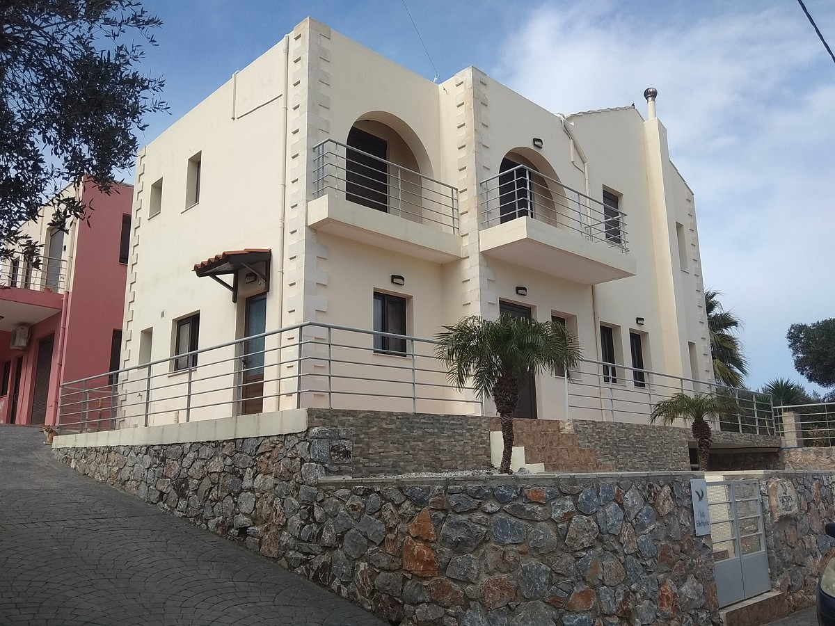 villa for sale in chania crete external view