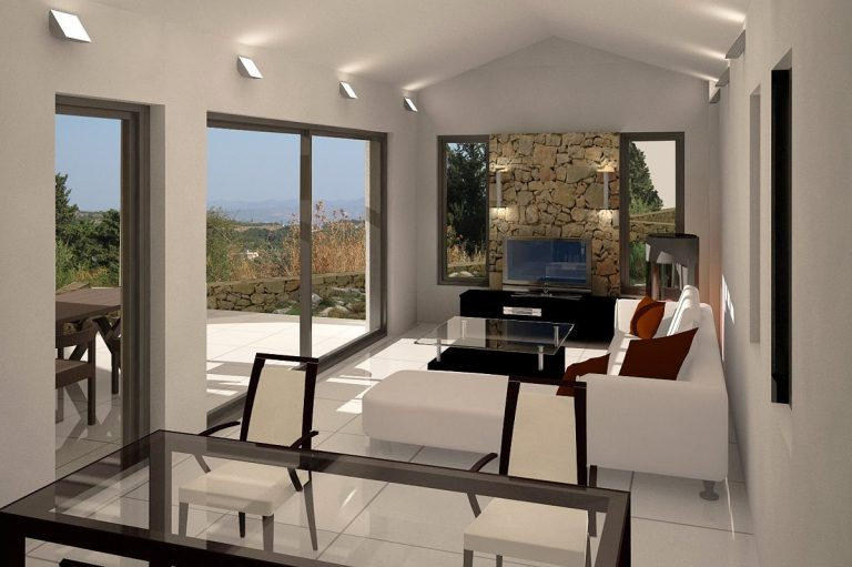 Investment project for sale in Apokoronas Chania Crete living area 3ds KH123