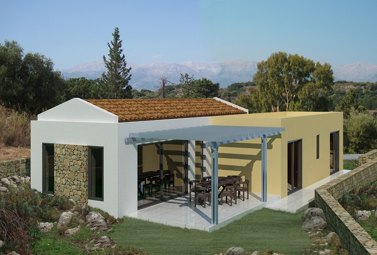 Investment project for sale in Apokoronas Chania Crete 3ds external KH123