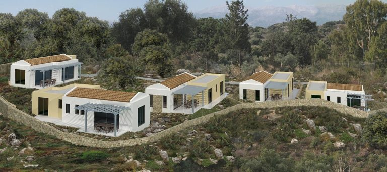 Investment project for sale in Apokoronas Chania Crete outside 3ds KH123