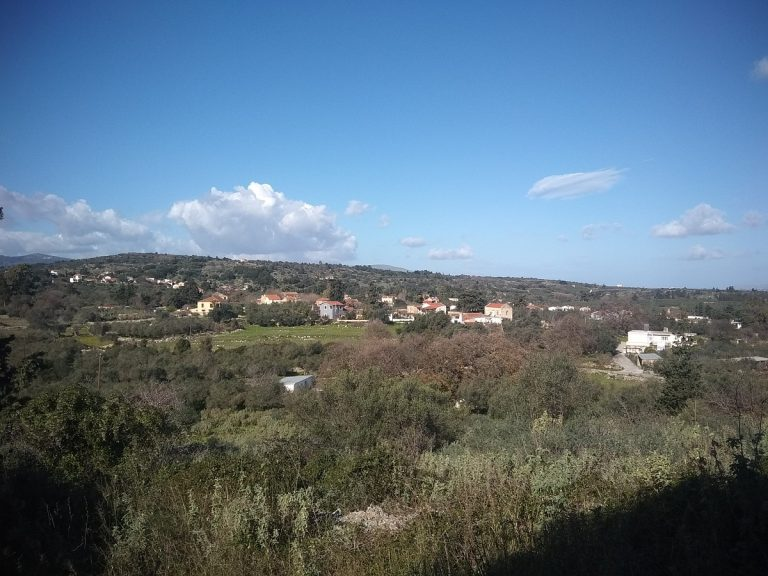 Investment project for sale in Apokoronas Chania Crete with unlimited countryside views KH123