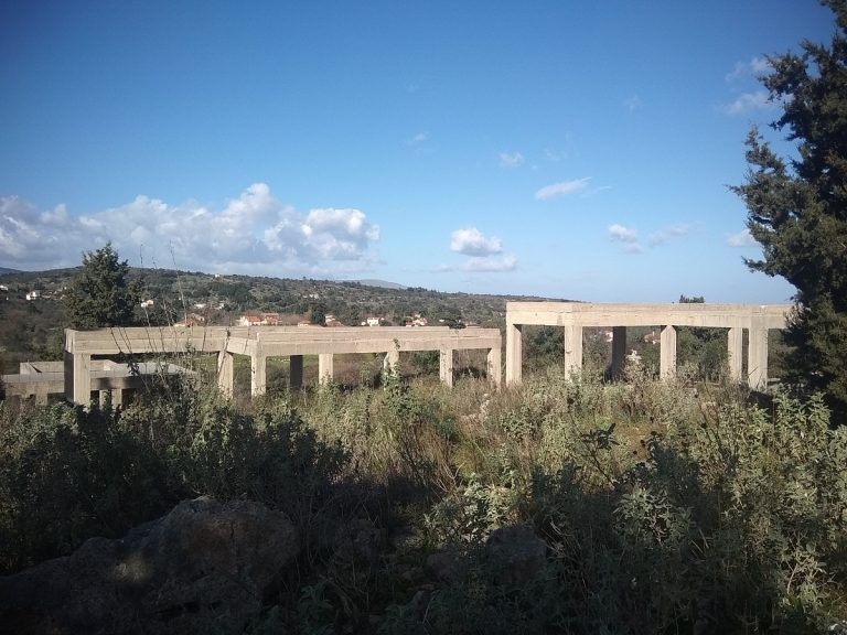 Investment project for sale in Apokoronas Chania Crete concrete frame completed KH123