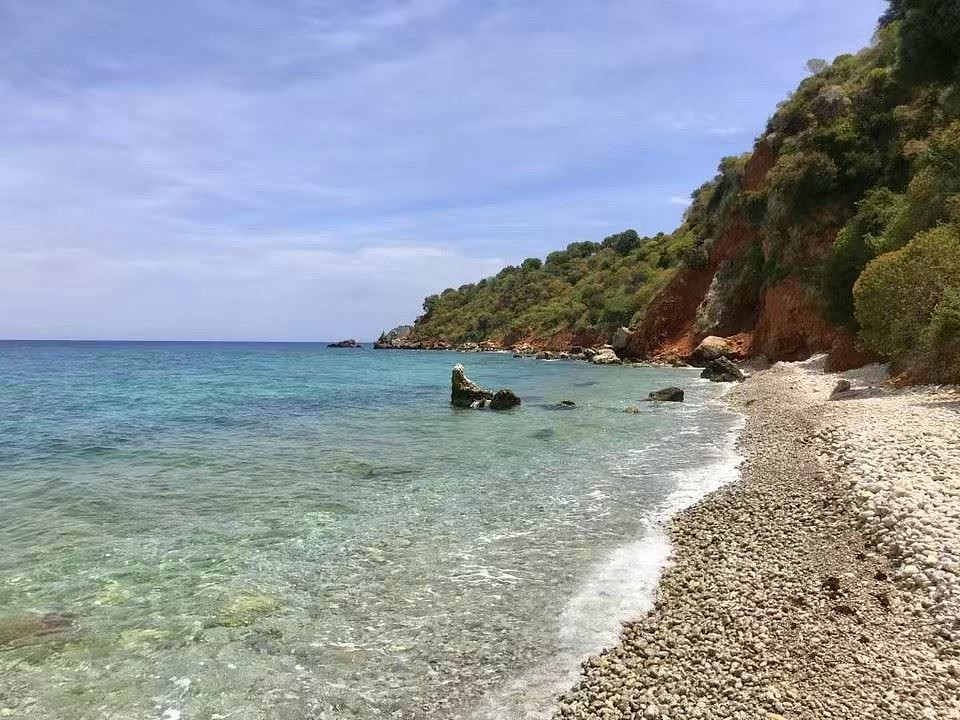 Kalami beach in Chania Crete KL426