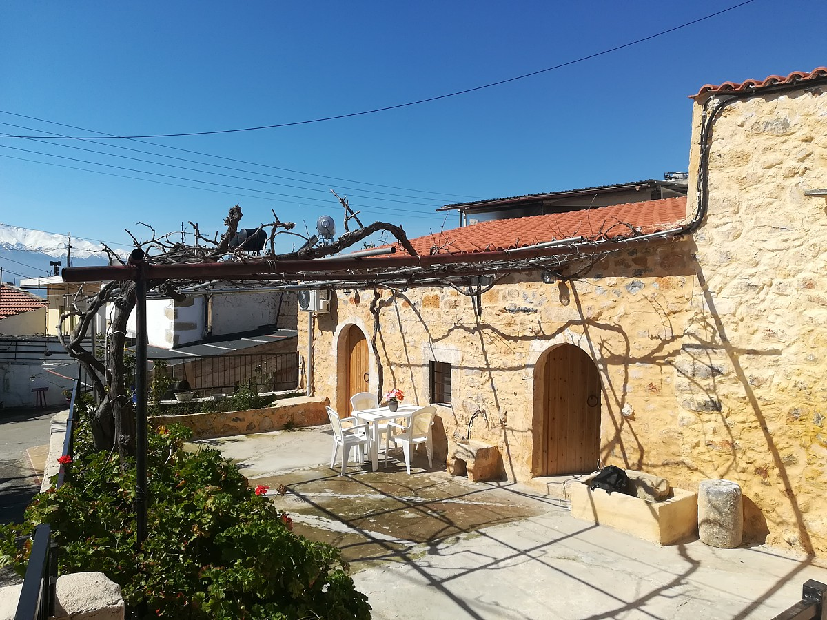 stone house for sale in chania crete apokoronas