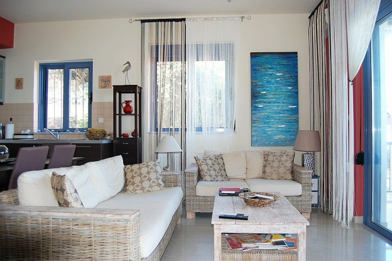 House for sale in Chania Crete sitting area KH135