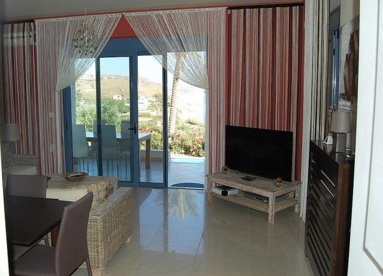 House for sale in Chania Crete living area KH135