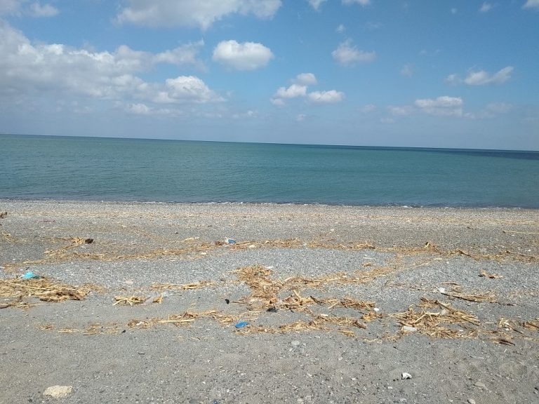 Seafront plot of land in Platanias Chania Crete for sale beach of Rapanianan CL066