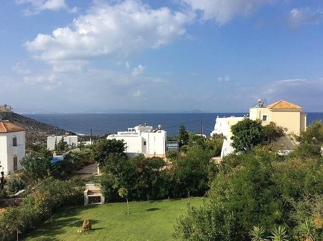 Villa for sale in Akrotiri Chania Crete garden area AH110