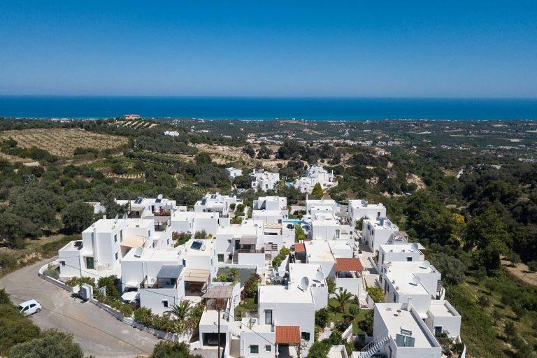 apartment for sale in rethymno crete development and sea view