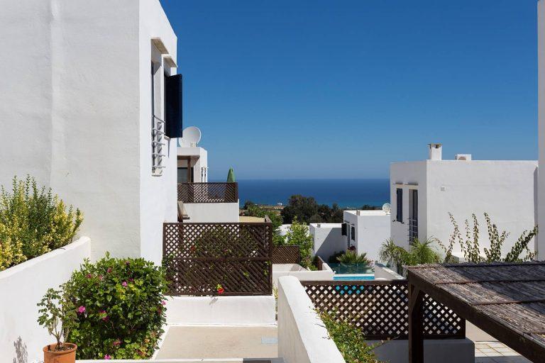 apartment for sale in rethymno crete sea view