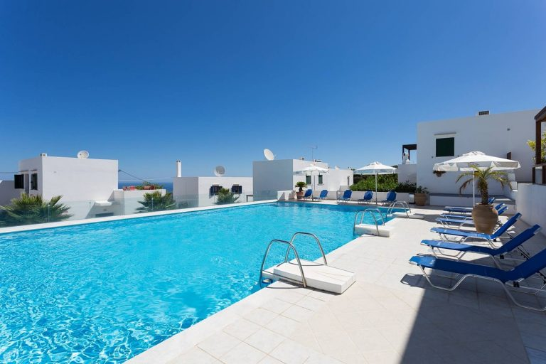 apartment for sale in rethymno crete pool