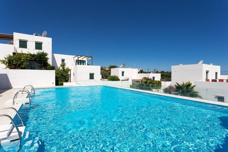 house for sale in rethymno crete pool area