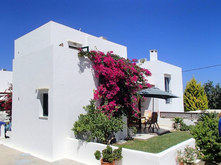 house for sale in rethymno crete house view