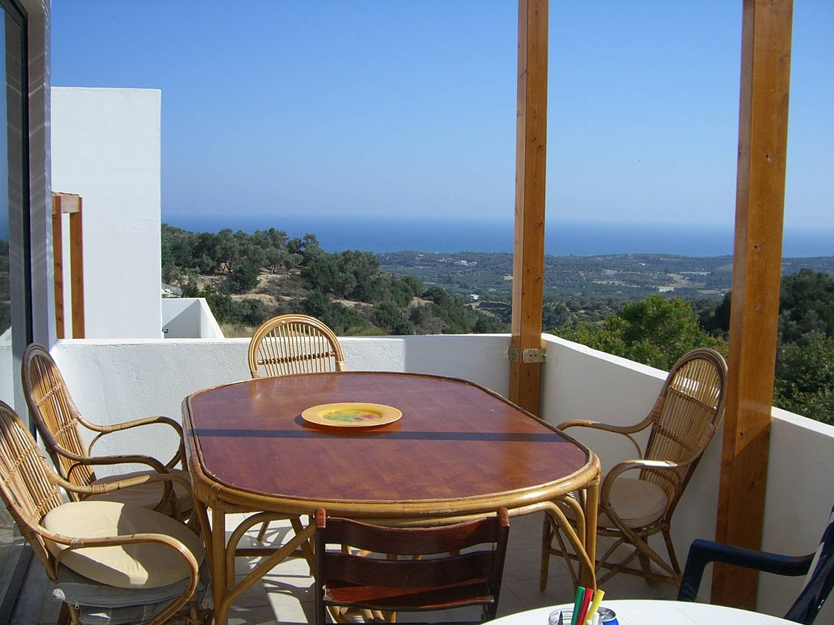 house for sale in rethymno crete veranda