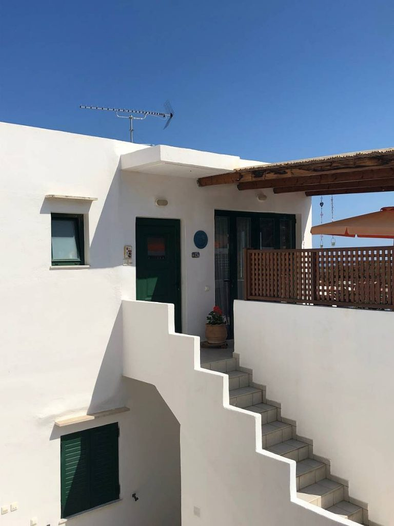 apartment for sale in rethymno crete entrance