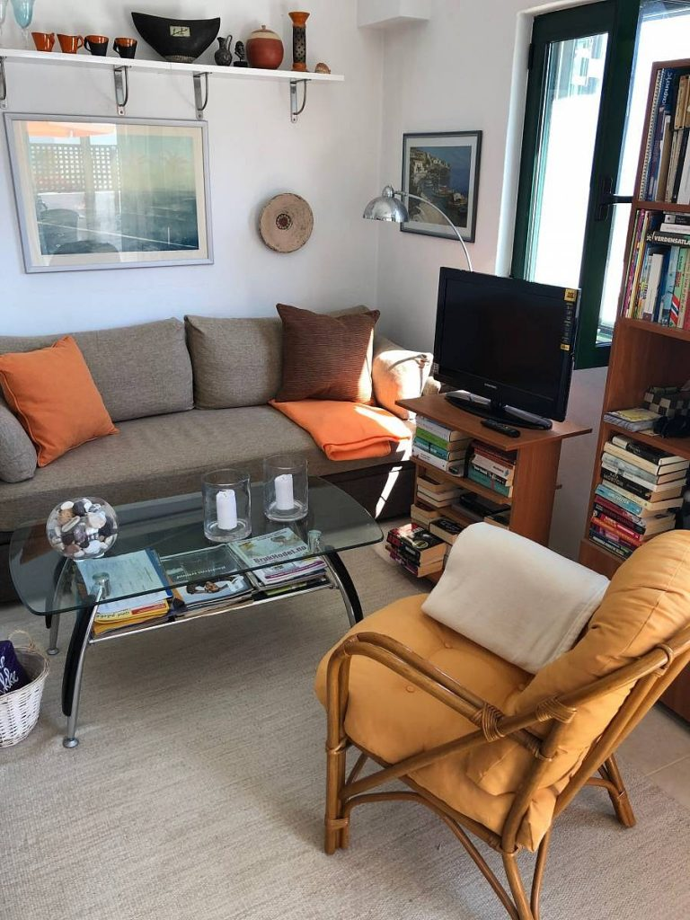apartment for sale in rethymno crete living area