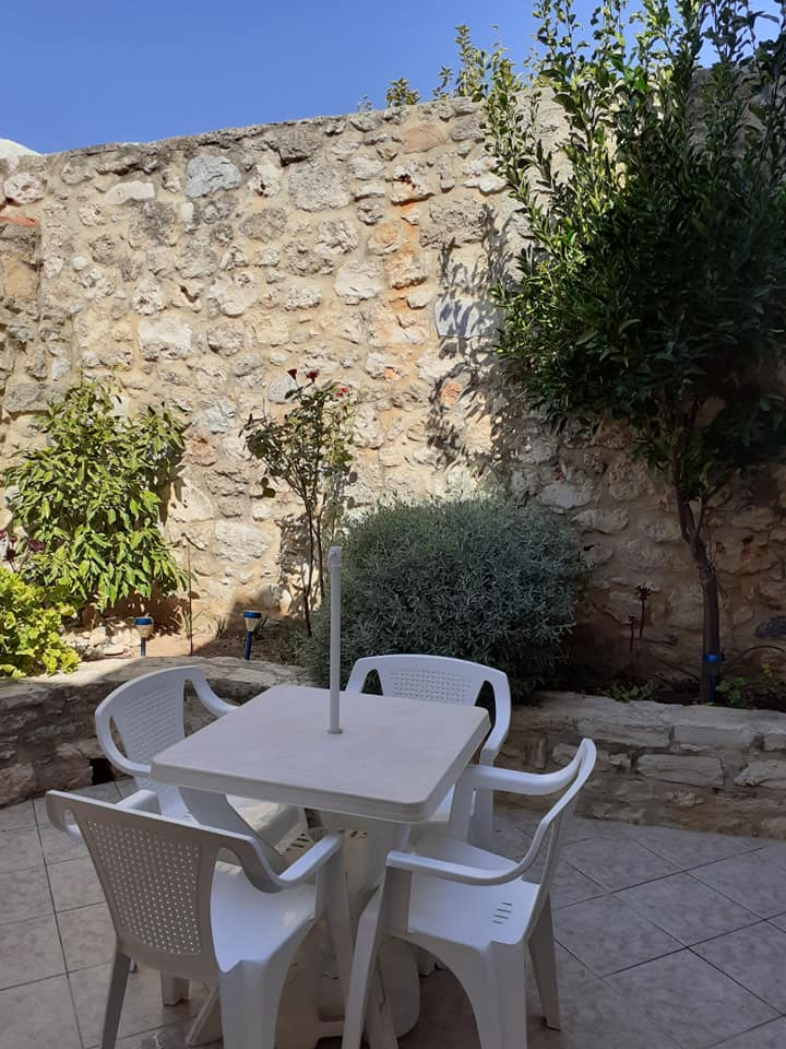 Stone house for sale in Rethymnon Crete with internal yard RH015