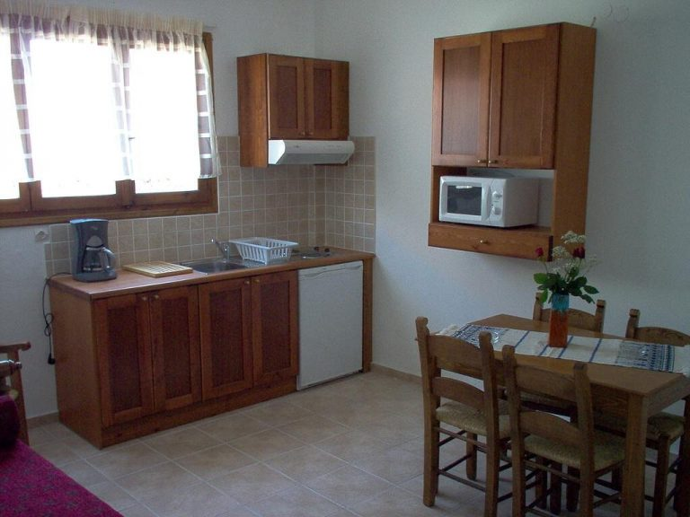 Guesthouse in Apokoronas Chania Crete for sale kitchen area KH142