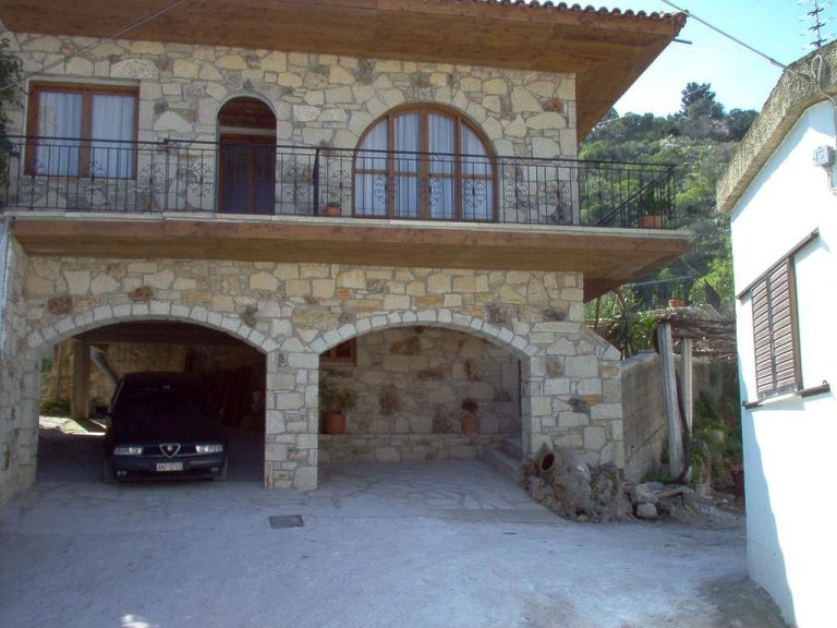 Guesthouse in Apokoronas Chania Crete for sale stone arches KH142