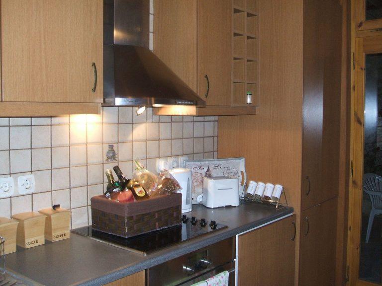 Stone house for sale in Rethymnon Crete kitchen RH015