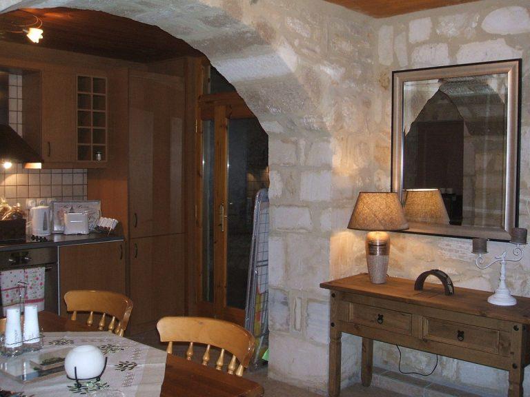 Stone house for sale in Rethymnon Crete arch RH015