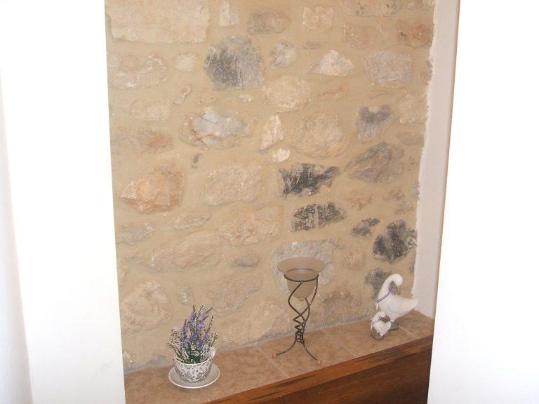 Stone house for sale in Rethymnon Crete detail RH015