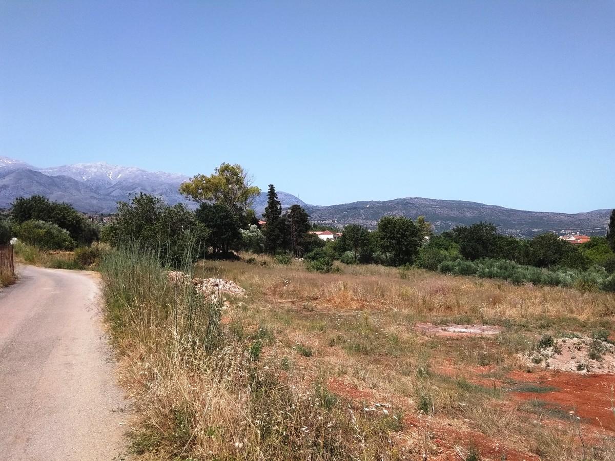 plot for sale in armenoi apokoronas chania kl434 road access