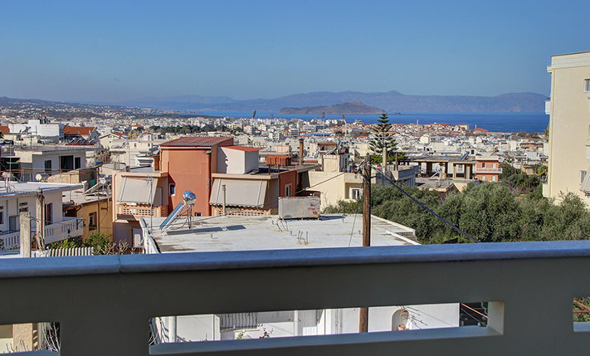 Apartment for sale in Chania CH128 panoramic view