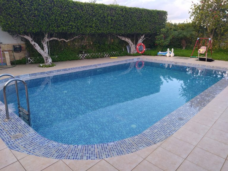 house for sale in kolymbari chania ch134 pool and bushes
