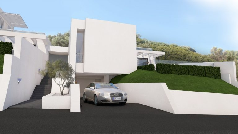new home for sale in kissamos chania ch143 entrance and parking