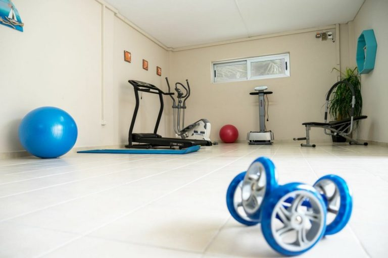 villa for sale in chania ch142 basement gym