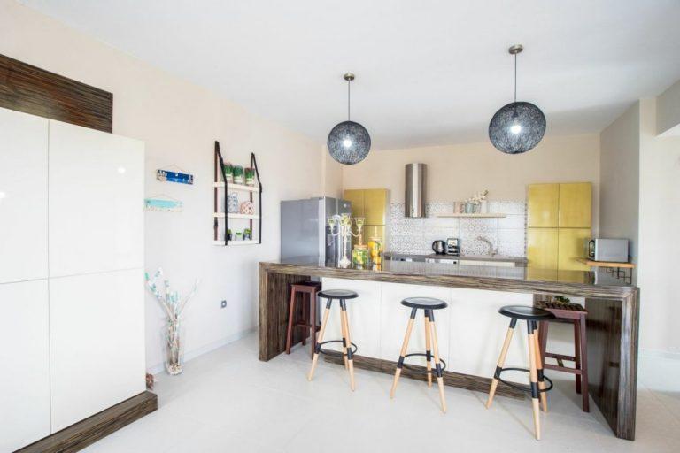 villa for sale in chania ch142 modern kitchen