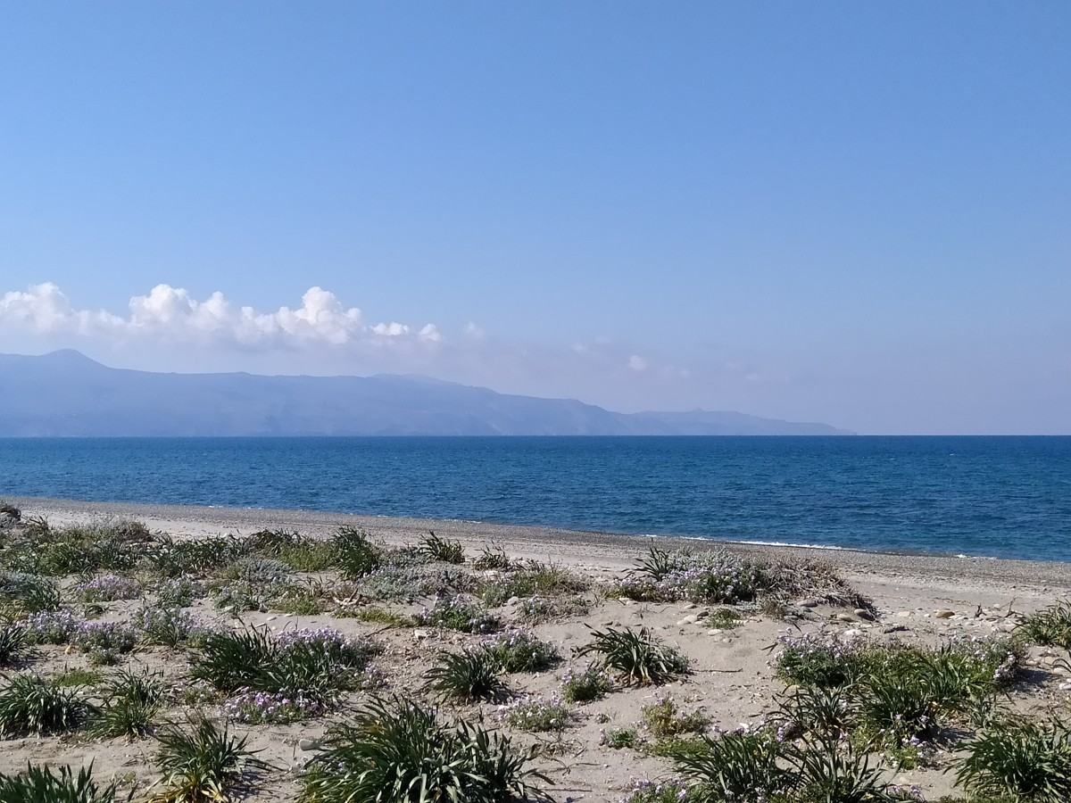seafront land for sale in maleme chania cl097